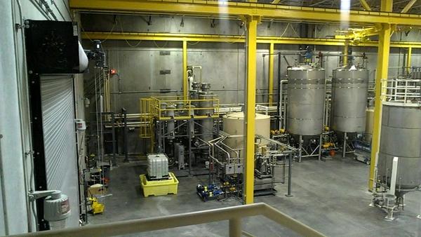 Biodiesel process plant