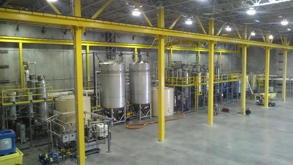 Transesterification system