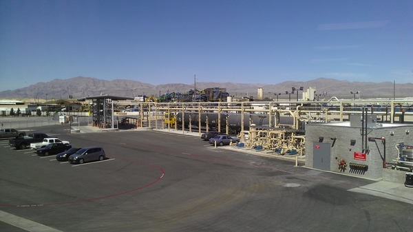 Rail and truck station for biodiesel
