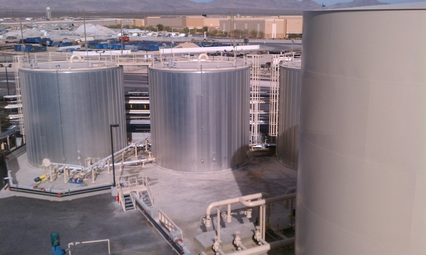 Glycerin purification storage tanks